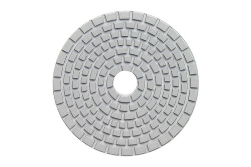 "DIAFLEX 4"" Wet Polishing Pad 3500 Grit Grey"