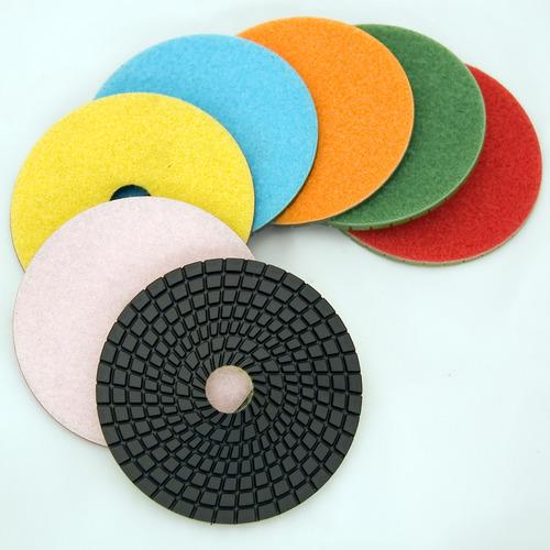 "E Series 4"" Wet Polishing Discs Set"
