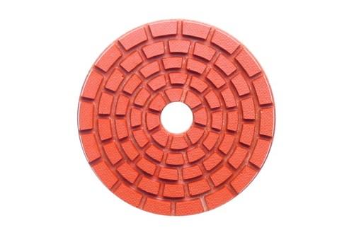 "E Series 5"" Wet Polishing Disc 1500 Grit Orange"