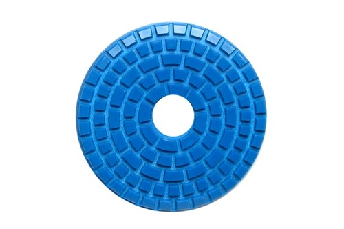 "E Series 5"" Wet Polishing Disc 50 Grit Blue"