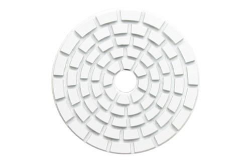 "E Series 5"" Wet Polishing Disc Buffing White"