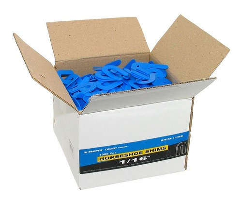 "SHIMS 1/16"" Thick Blue Box"