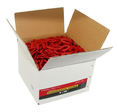 "SHIMS 1/8"" Thick Red Box"