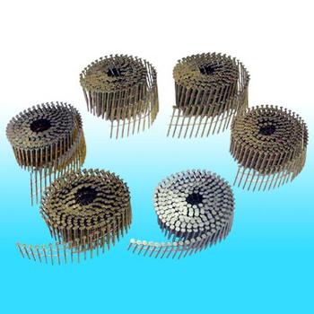 "Hitachi 1-3/4""-.120 Roofing Nails 12103 Coil Galvanized"