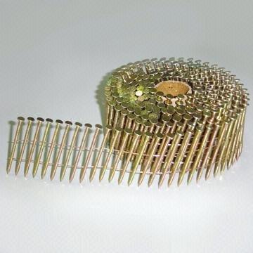 "Hitachi 3""x .120 12235 RG EC Galv Coil Fram Nails 4000 Per Box"