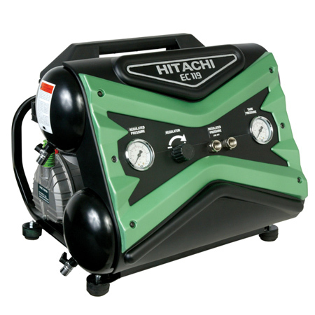 Hitachi EC119SA Portable 1.6hp Electric Air Compressor
