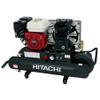 Hitachi EC2510E Lubricated 5.5hp Honda Gas Air Compressor