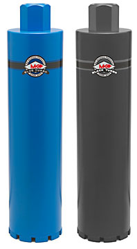 "MK Diamond 6"" (152mm) Blue Turbo Core bit"