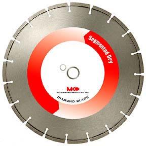 """MK Diamond MK-334D 12"""" x .110"""" x 20mm Premium Block/Brick"""