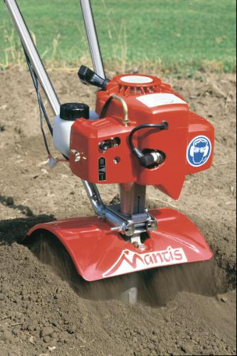 """Mantis 4 Cycle 9"""" Tiller/Cultivator powered By Honda"""