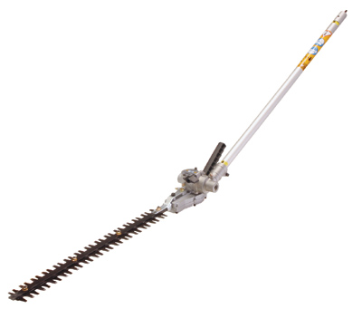 "Tanaka TSF-HT 22"" Double Sided Articulating Pole Hedge Trimmer"
