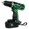 "Hitachi DS18DVF3 18V Cordless 1/2"" Driver Drill Kit w/Flashlight"