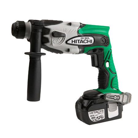 Hitachi DH18DL 18V 5/8 SDS Plus Rotary Hammer W/2 Ah LI Ion Batt