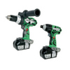 Hitachi KC18DDL Li-Ion Driver Drill & Impact Driver Combo Kit