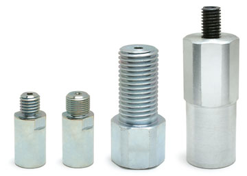 "MK Diamond Shaft Coupling: 5/8""-11 male to 1-1/4"" - 7 Female"