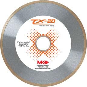 """MK 166966 TX-20 10""""X.060""""X1 TILE BLADE"""