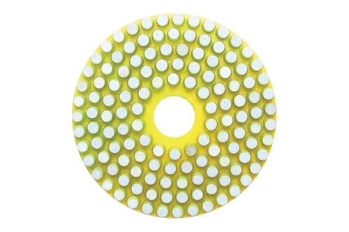 Vitrified 4' Wet Polishing Pad 150 Git Yellow