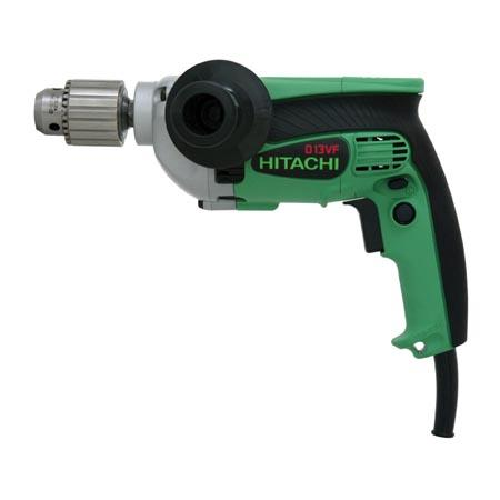 "Hitachi D13VG ½"" Drill 9.0 Amp, EVS, Reversible"