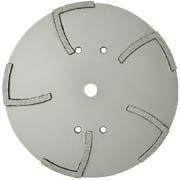 MK-1010S 10 Segmented Concrete Grinding Wheel Cured Concrete