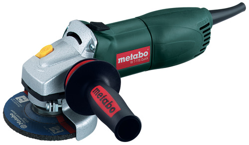 "Metabo 4-1/2"" Grinder Paddle Switch WP7-115Quick 8 Amp"