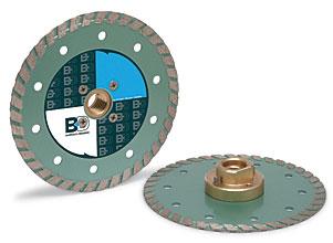 "Barranca Diamond BD-500W 4-1/2"" x .090"" x 20mm w/4 holes"