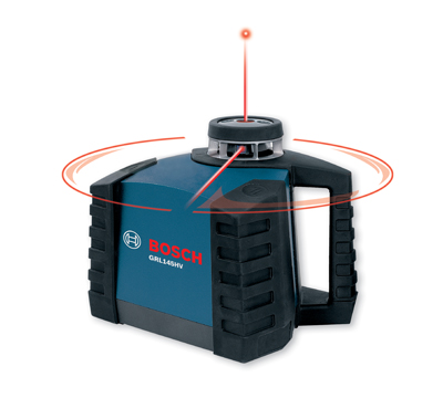 Bosch Horizontal/Vertical Self Level Rotary Laser Kit