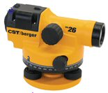 CST/berger 55-CAL26G CAL 26X Auto Level, Gons