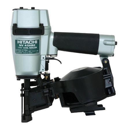 "Hitachi NV45AB2(H) 7/8"" -1-3/4"" Roofing Nailer Power Pack Equip"