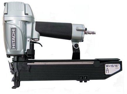 "Hitachi N5021A 15/16"" Wide Crown Construction Stapler"