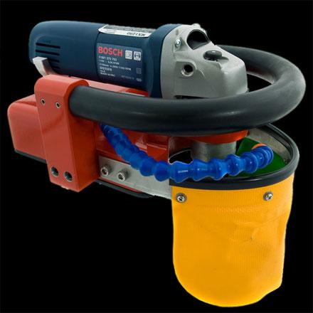 Amigo MX-1250 Sink edge Machine W/Makita 9565CV
