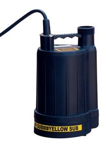 "Multiquip Yellow Submarine Sump Pump .25hp 1-1/4"" 120V 22GP"