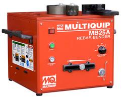 "Multiquip MB25A 1/4""-1"" Rebar Bender"