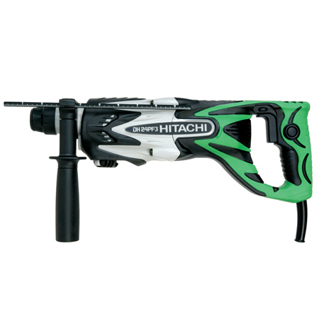 "Hitachi DH24PF3 15/16"" SDS PLUS Rotary Hammer"