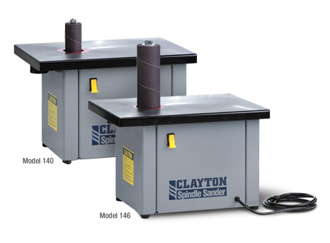 Clayton Model 140 Bench Top Spindle Sander
