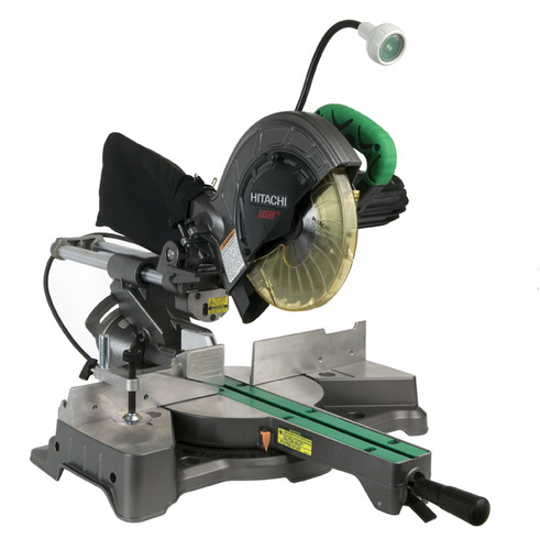 "Hitachi C8FSHE 8-1/2"" Sliding Compound Miter Saw w/Laser"