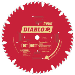 "Freud 10-1/4"" 40 tooth Diablo Best For Big Foot"