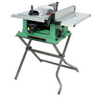 "Hitachi C10RA3 10"" Jobsite Table Saw with Stand"
