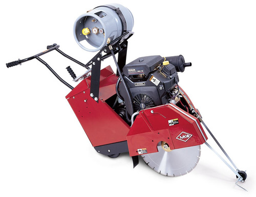 "MK Diamond 2020KSP 16"" 20HP Kohler Propane Concrete Saw"