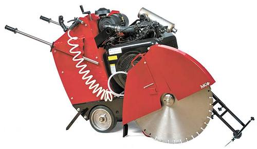 "MK Diamond 4000 36"" 30 HP Deutz Diesel Concrete Saw (Call for Price)"
