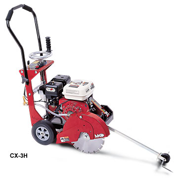 MK Diamond CX3-H Concrete Saw 6.5HP Honda Cyclone