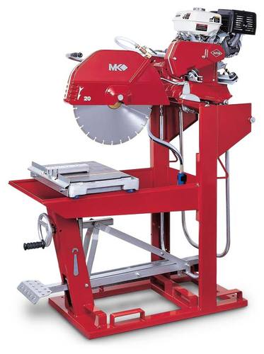"MK Diamond 5013G 24"" 13HP Gas Powered Block Saw"