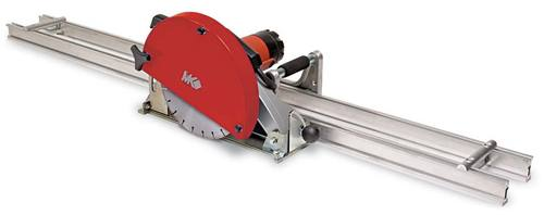 MK Diamond MK-1590 Wet Cutting Rail Saw