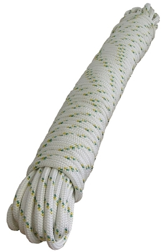 Double braided polyester rope - 10 mm x 200 m (3/8'' x 656')