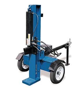 Iron & Oak BHVH3405 34Ton Vertical/Horiz 13HP Robin Elec Start
