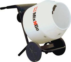 Stow PortoMix Portable Concrete Mixer 3cuft Wheelbarrow Style