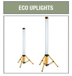 Defender Eco Uplights w/Tripod Base 4 ft 36 watt Fluorescent