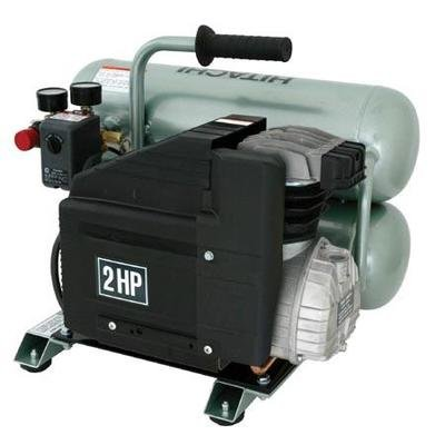 Hitachi EC12 Lubricated Portable 2 hp Electric Air Compressor