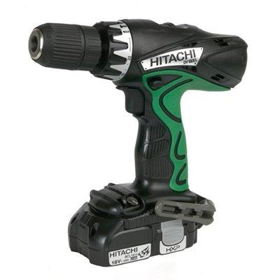 Hitachi DV18DCL 18-Volt Li-Ion Cordless Hammer Drill W/2Batt
