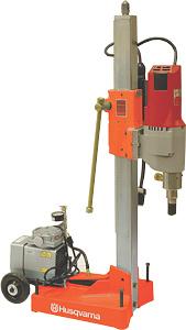 Husqvarna DMS330 ATSVH High Speed Core Drill Rig W/Vac Pump