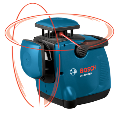 Bosch Dual-Axis self Leveling Rotary Laser Kit